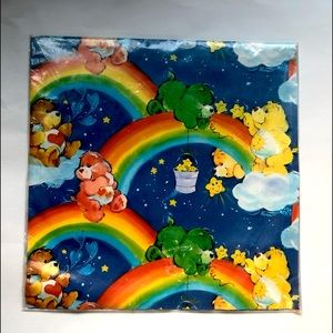 Authentic CARE BEARS 1980's Wrapping Paper! NIB